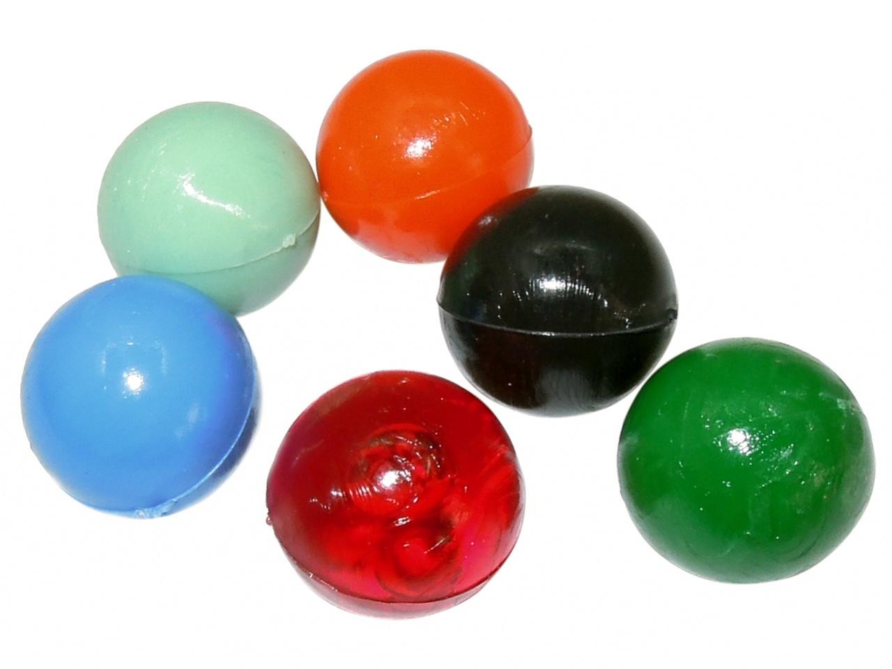 Plastové kuličky do praku 17mm 40ks