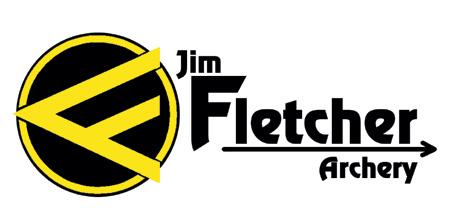 Logo výrobce Jim Fletcher Archery - vypouštěč tětivy