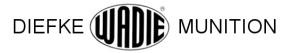 Wadie - náboje do plynových pistolí