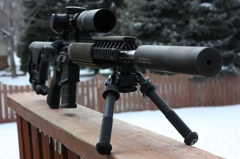 Odstřelovací zbraň