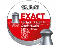 Diabolo JSB Exact Heavy 500ks cal.4,51mm