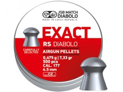 Diabolo JSB Exact RS 500ks cal.4,52mm
