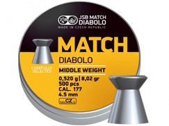 Diabolo JSB Match puška 500ks cal.4,51mm