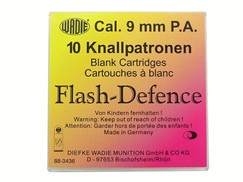 Flash Defence náboje 9mm pistole 10ks