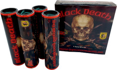 Pyrotechnika Petardy BLACK DEATH 4ks