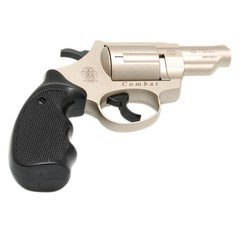 Plynový revolver Smith&Wesson Combat nikl cal.9mm